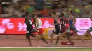 Men's 800m FINAL World Championships Beijing 2015 - Rudisha gold, Kszczot silver, Tuka brozne