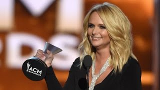 Miranda Lambert Wins 'Female Vocalist of the Year' at ACMs - Watch Her Performance!