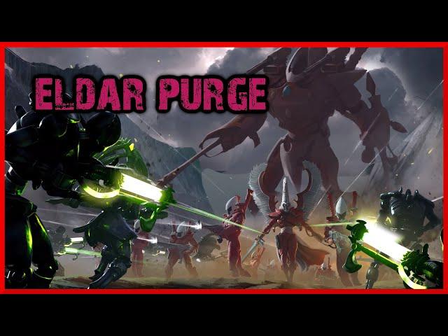 TWITCH versus ELDAR! Warhammer 40k Gladius Multiplayer Match