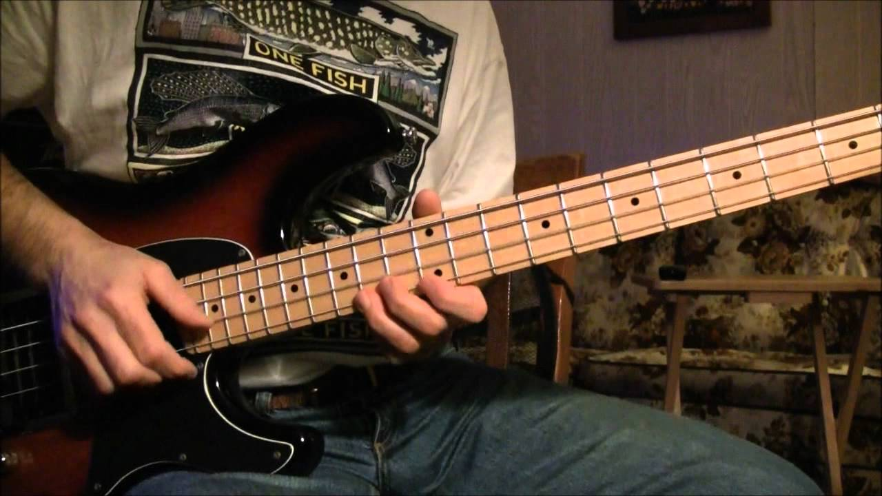 Bass Lesson Strumming With Chords And Drone Strings Youtube