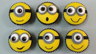 how to make minion cupcakes
