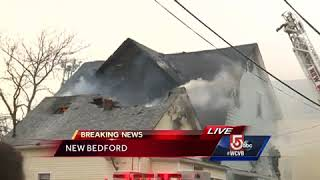 Flames damage two New Bedford homes