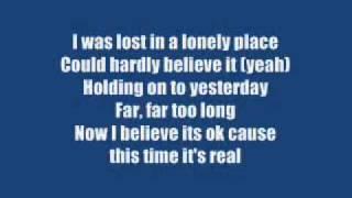 Westlife - I Lay My Love On You  (video lyrics).flv