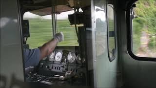 しなの鉄道115系 運転台風景