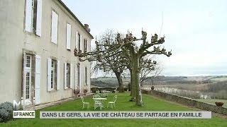 FEUILLETON : Dans le Gers, la vie de château se partage en famille