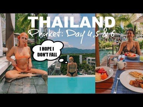 PHUKET INFINITY POOL, NIGHT MARKET & BEACH CLUB | THAILAND VLOG 2