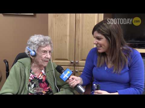 VIDEO: Emily celebrates 107