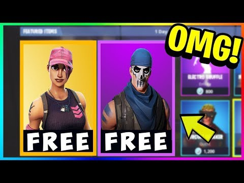 *NEW* FREE SKINS in FORTNITE! Download FREE