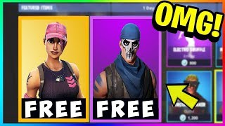 "*NEW* FREE SKINS in FORTNITE! Download FREE ""Rose Team Leader & Warpaint!"" (Fortnite Battle Royale)"