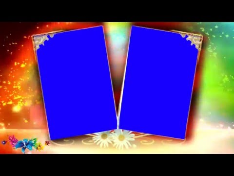 HD Wedding Blue Background Video Blue Mat Effects thumbnail