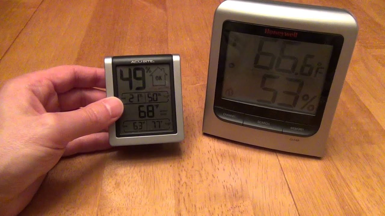 AcuRite Humidity Monitor 613 Review - YouTube