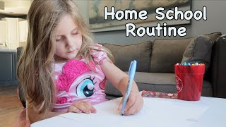Day in the Life - Quarantine Home School
