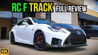 2020 Lexus RC F Track Edition: FULL REVIEW | Unleashing the Beast Within!