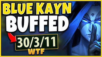 *KAYN BUFF* NEW CHANGES ARE ABSOLUTELY AMAZING (THANK U RIOT) - League of Legends
