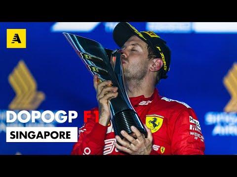 F1, GP Singapore 2019: è storica doppietta Ferrari. Vince Vettel, secondo Leclerc