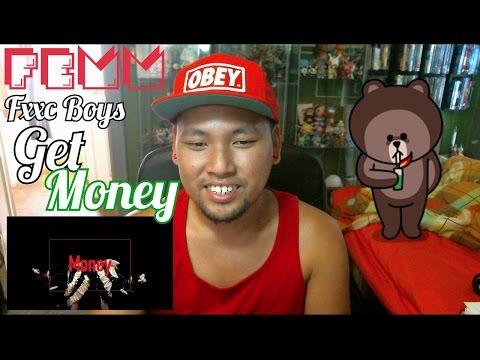 """FEMM """"FxxK Boys Get Money"""" Reaction Ejax"""