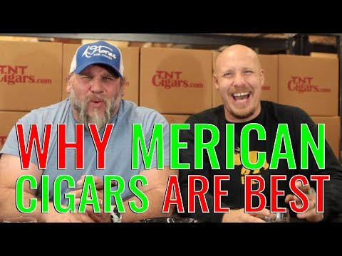 Why Cigars in MERICA are the BEST IN THE WORLD (f. CAO Amazon Basin)