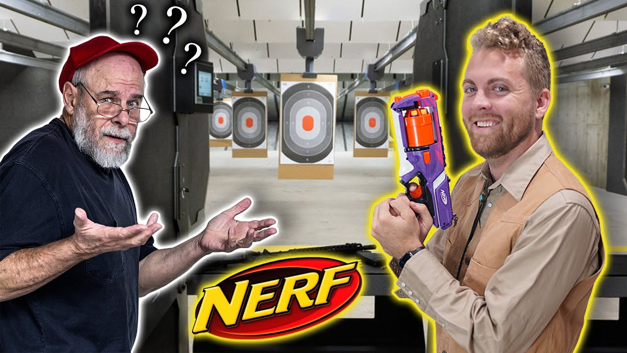 Bringing Nerf Guns to a Shooting Range - download from YouTube for free