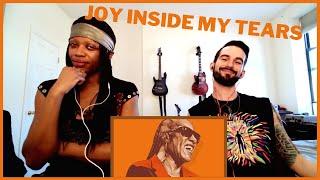 "STEVIE WONDER ""JOY INSIDE MY TEARS"" (reaction)"