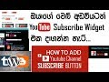 How to Add a Youtube Subscribe Widget to Your Website [Blogger-Wordpress]