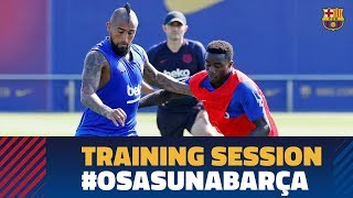 Back to work to prepare LaLiga match against Osasuna