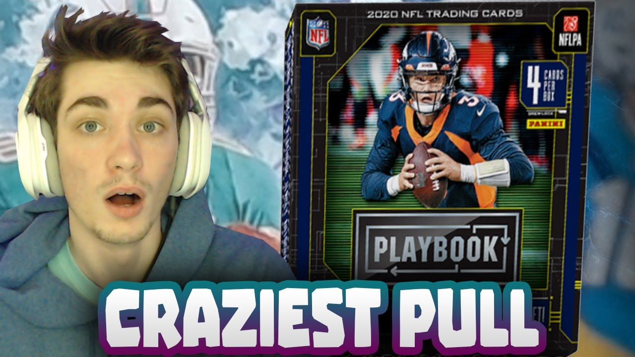 2020 Panini Playbook Football! Sickest Pull of the Year!