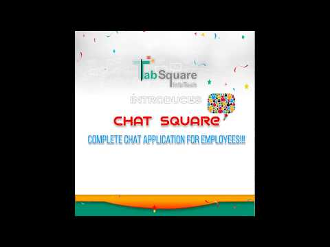 Chat Square - Complete Online Chat Application For Employees
