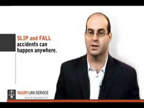 Dade, Broward and Palm Beach County  Slip and Fall Attorney