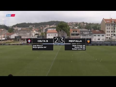 Celta  B -  Mestalla, Partido de Ida Fase de Ascenso a Segunda División