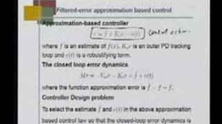 Mod 3 Lec 9 Direct Adaptive control of Manipulators - Intro