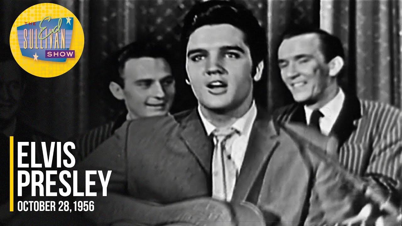 """Download Elvis Presley """"Hound Dog"""" (October 28, 1956) on The Ed Sullivan Show"""