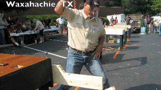 Bladesports World Championship Knife Cutting Competition  Blade Show Atlanta 2011