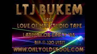 LTJ Bukem rare Love of Life Studio Mix Tape ~