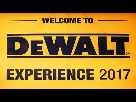 DeWalt New Tools for 2017 Media Event Coverage