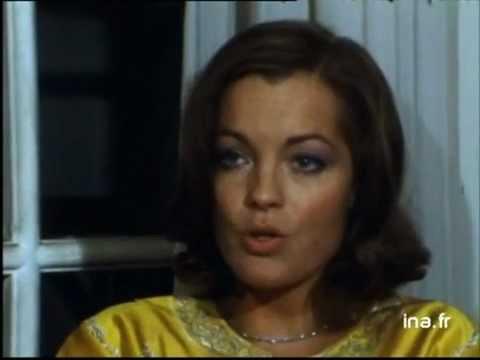 """Romy Schneider & Jean Louis Trintignant Interviews """"Das wilde Schaf"""" (06.02.1974)"""