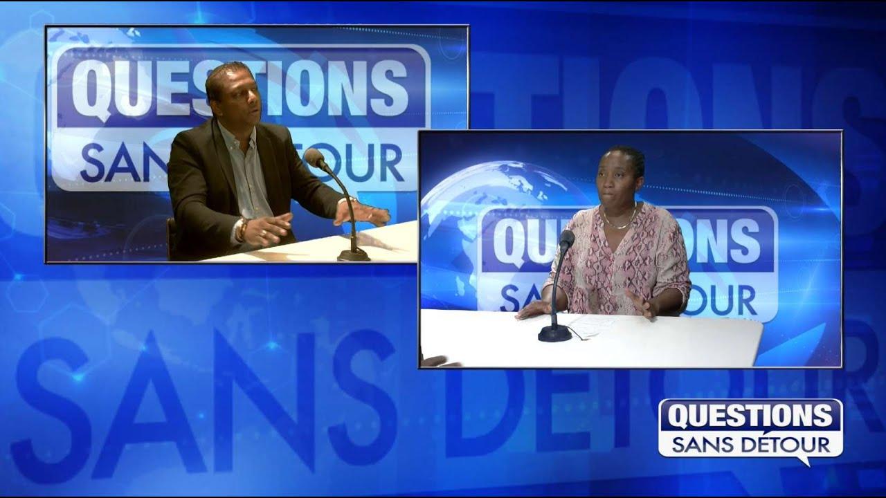 Chantal Azor est l'invitée sur ETV dans l'émission Questions sans Détour avec Warren CHING