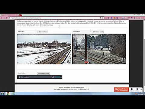 Awsome railfan of the railcams today in Port Huron Charter Township, MI