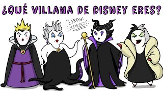 ¿QUÉ VILLANA DE DISNEY ERES? 🔮TEST🔮 | Draw My Life