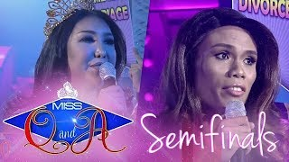 It's Showtime Miss Q & A Semifinals: Khei Perlaoan vs. Marigona Dragusha | Di Ba? Teh! Ganern