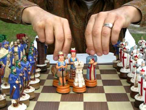 Classic Theme Chess Sets: Crusaders, Civil War ... etc.!
