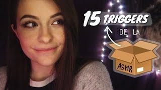 ASMR FRANCAIS ⚪️ LA compilation de TRIGGERS 😍🔥 ! 15 triggers de la boîte