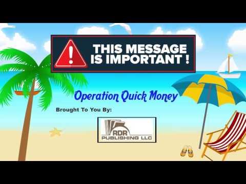 Operation Quick Money Program