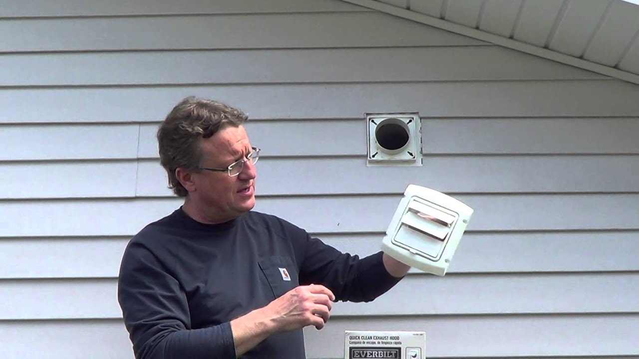 Dryer Vent Cover Youtube