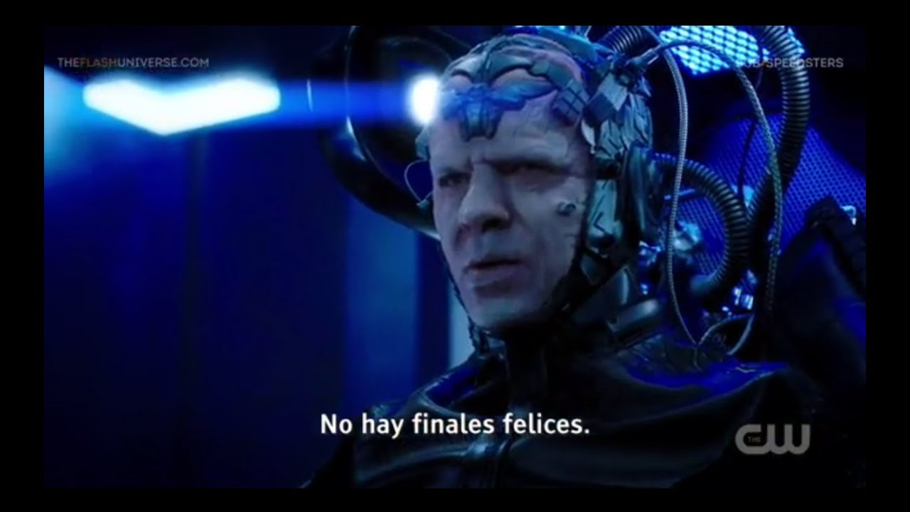 THE FLASH - The Thinker le dice a Barry Allen que no hay finales felices . THEFLASHFANS