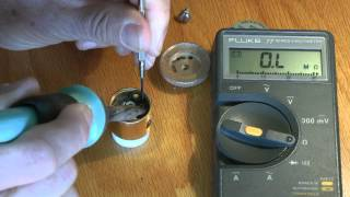 Bird Watt Meter Element Repair