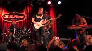 "WALTER TROUT w/ JON TROUT  ""Rock Me Baby - NYC 8/4/15"