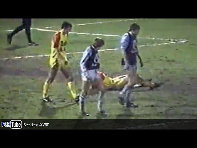 1985-1986 - Beker Van België - 07. Halve Finale - KV Mechelen - Club Brugge 3-1