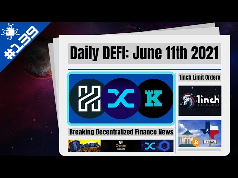 KEEP, XHV, SNX, Texas Banks Custody Bitcoin & 1inch New Limit Order Features Crypto News