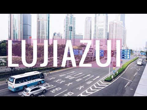 LUJIAZUI - Najnowocześniejsza część Szanghaju!