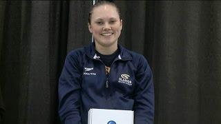 2016 NCAA Todays Top 10 Award recipient Kristin Day